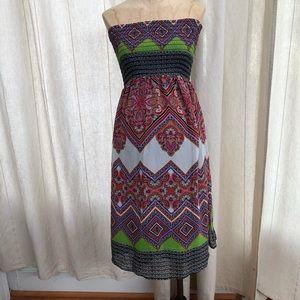 Jules and Jim maternity strapless Dress XS